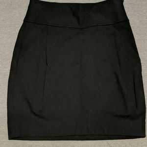 Banana republic structured stretchy skirt!
